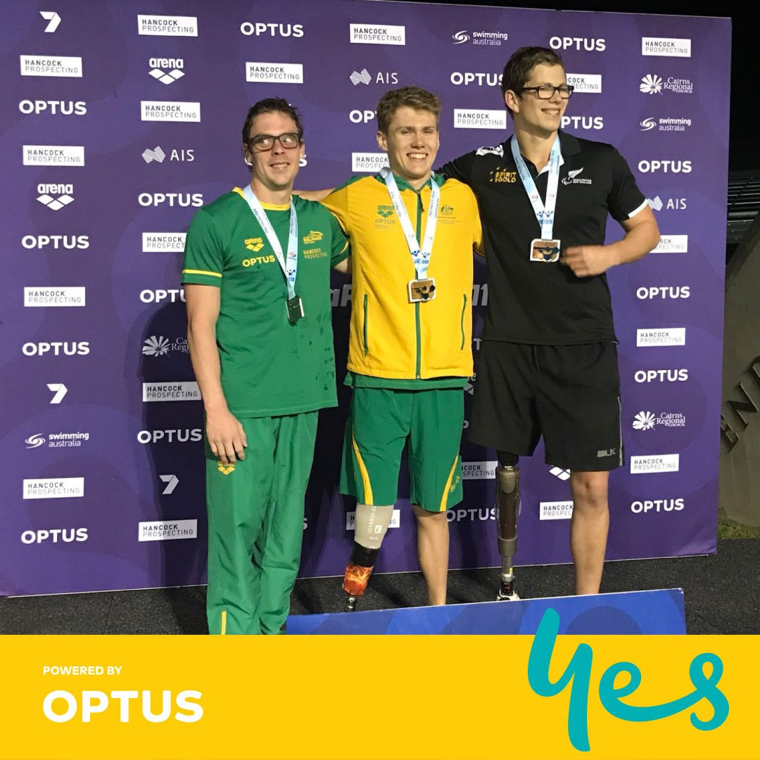 Australian domination continues at Pan Pacific Para Swimming Championships