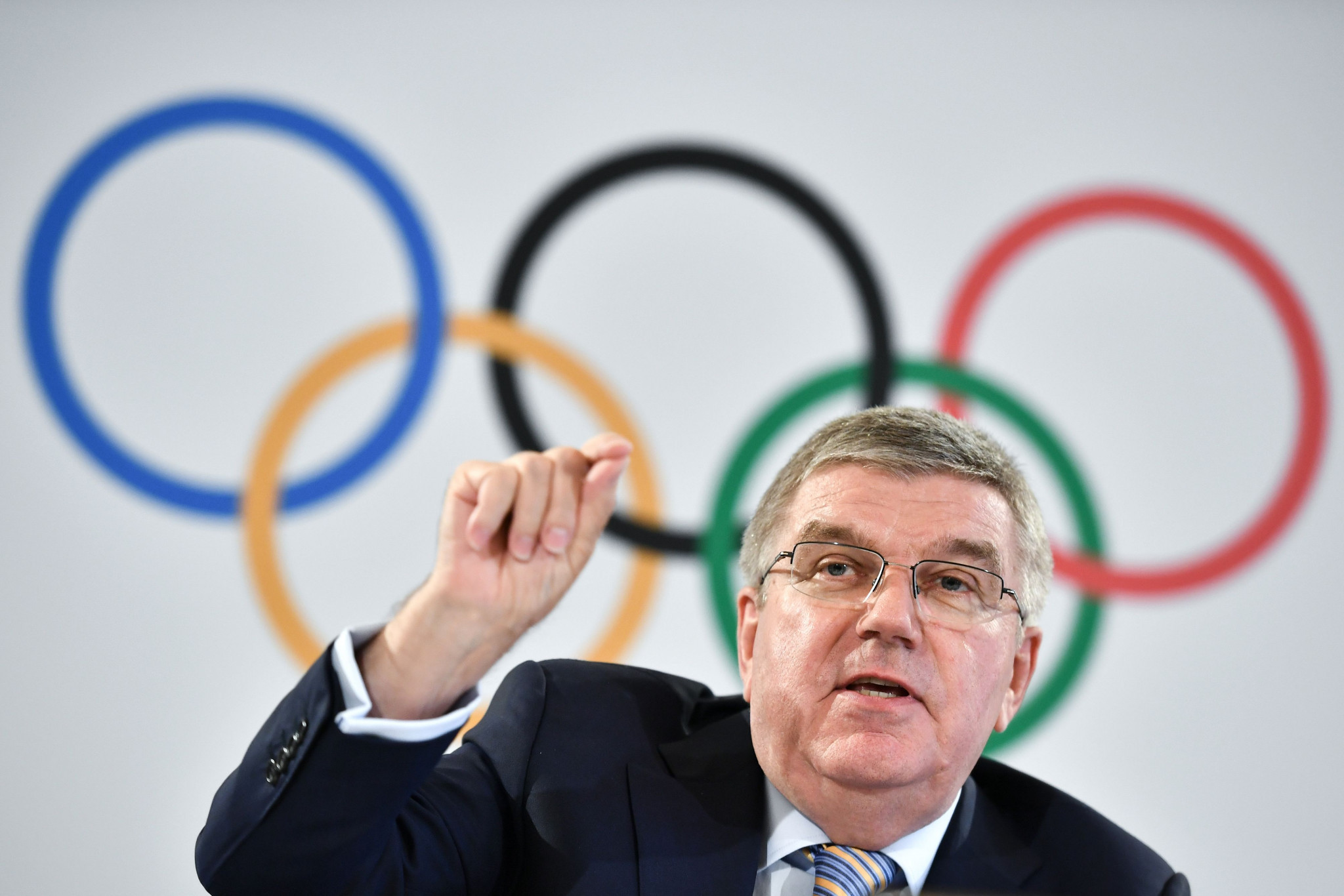 IOC President Thomas Bach has suggested the organisation want a reduced field in future Olympic bidding races ©Getty Images