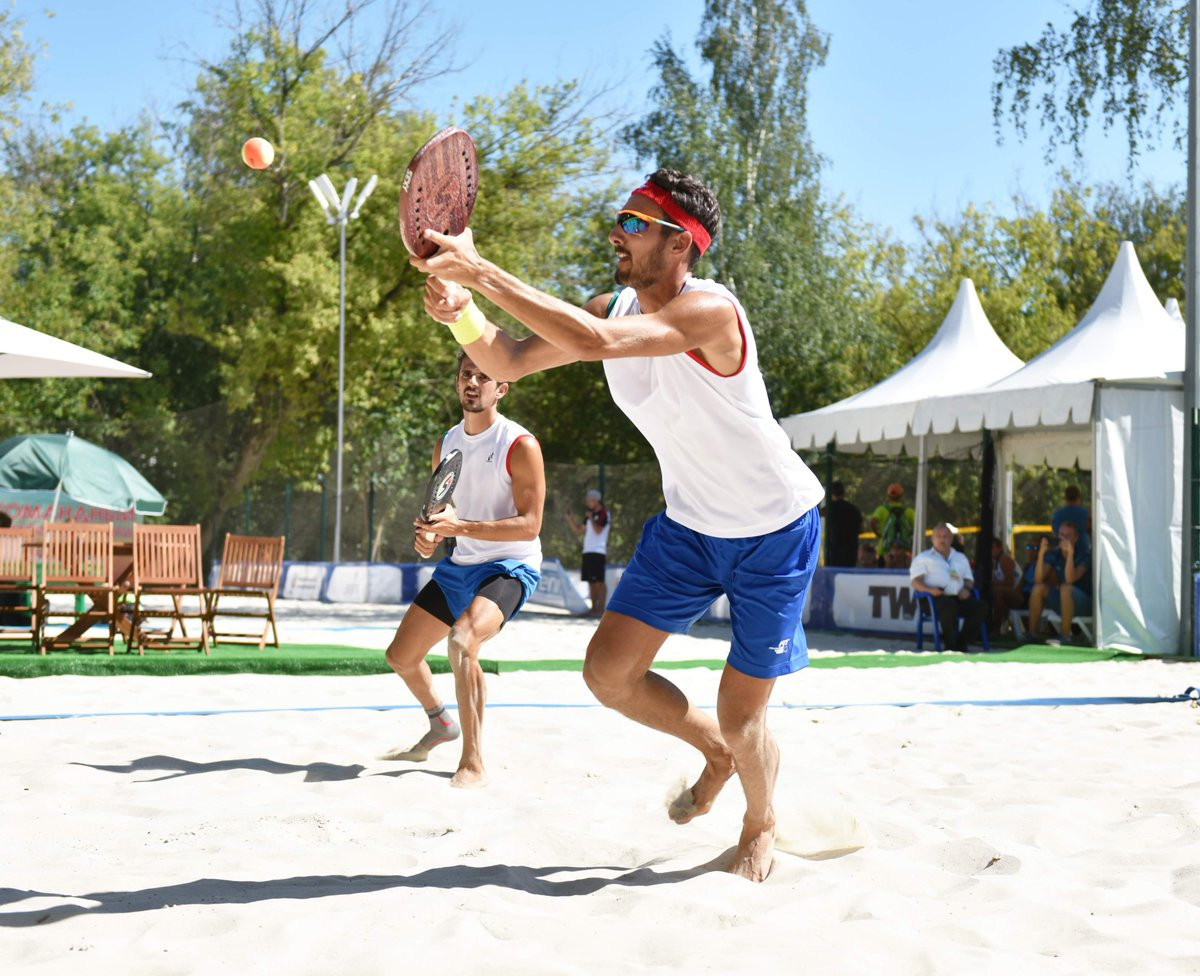 The defending champions Italy have cruised into the final at the ITF World Beach Tennis Team Championships in Moscow ©ITF