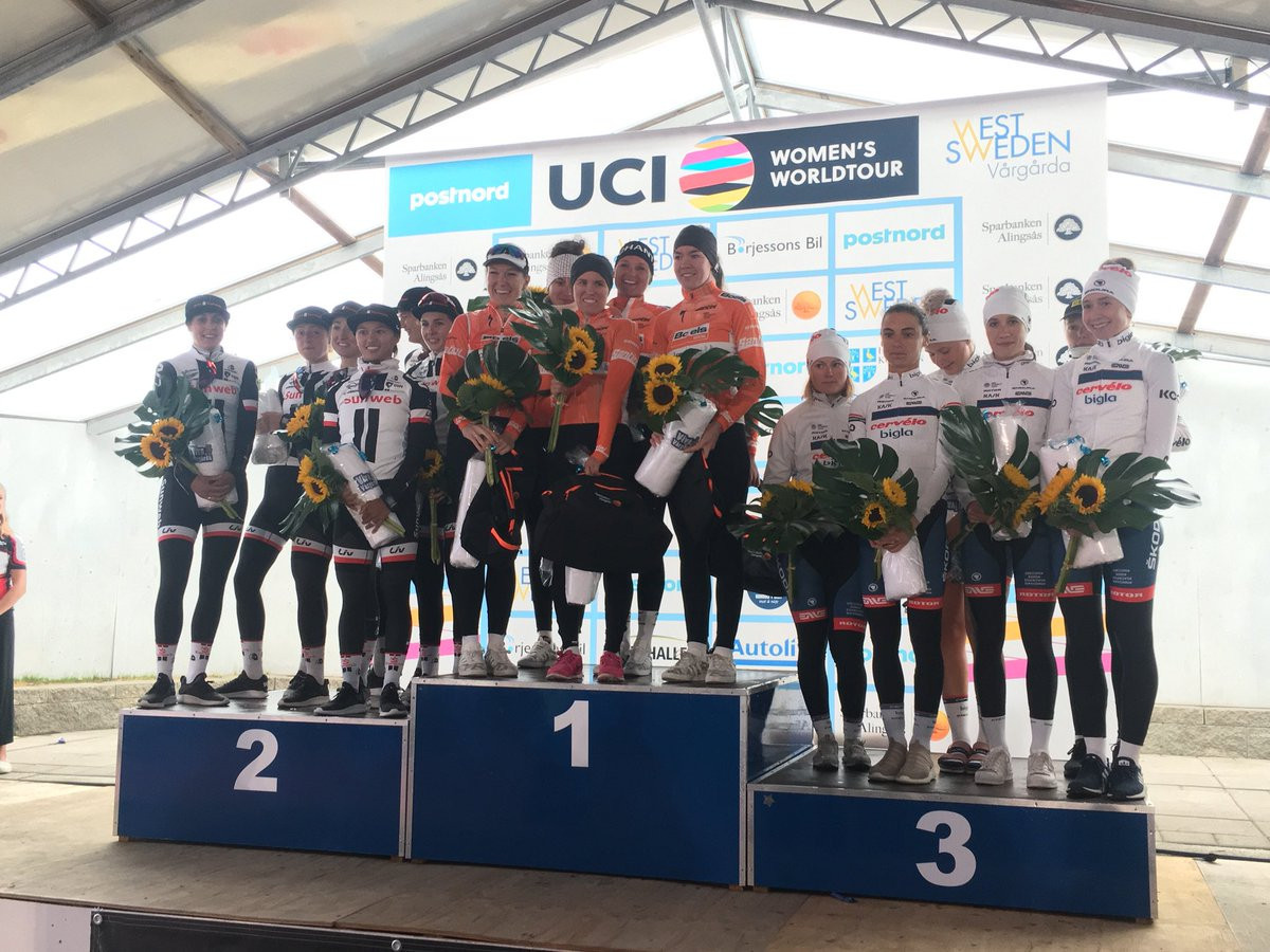 Boels-Dolmans win team time trial at Open de Suède Vårgårda