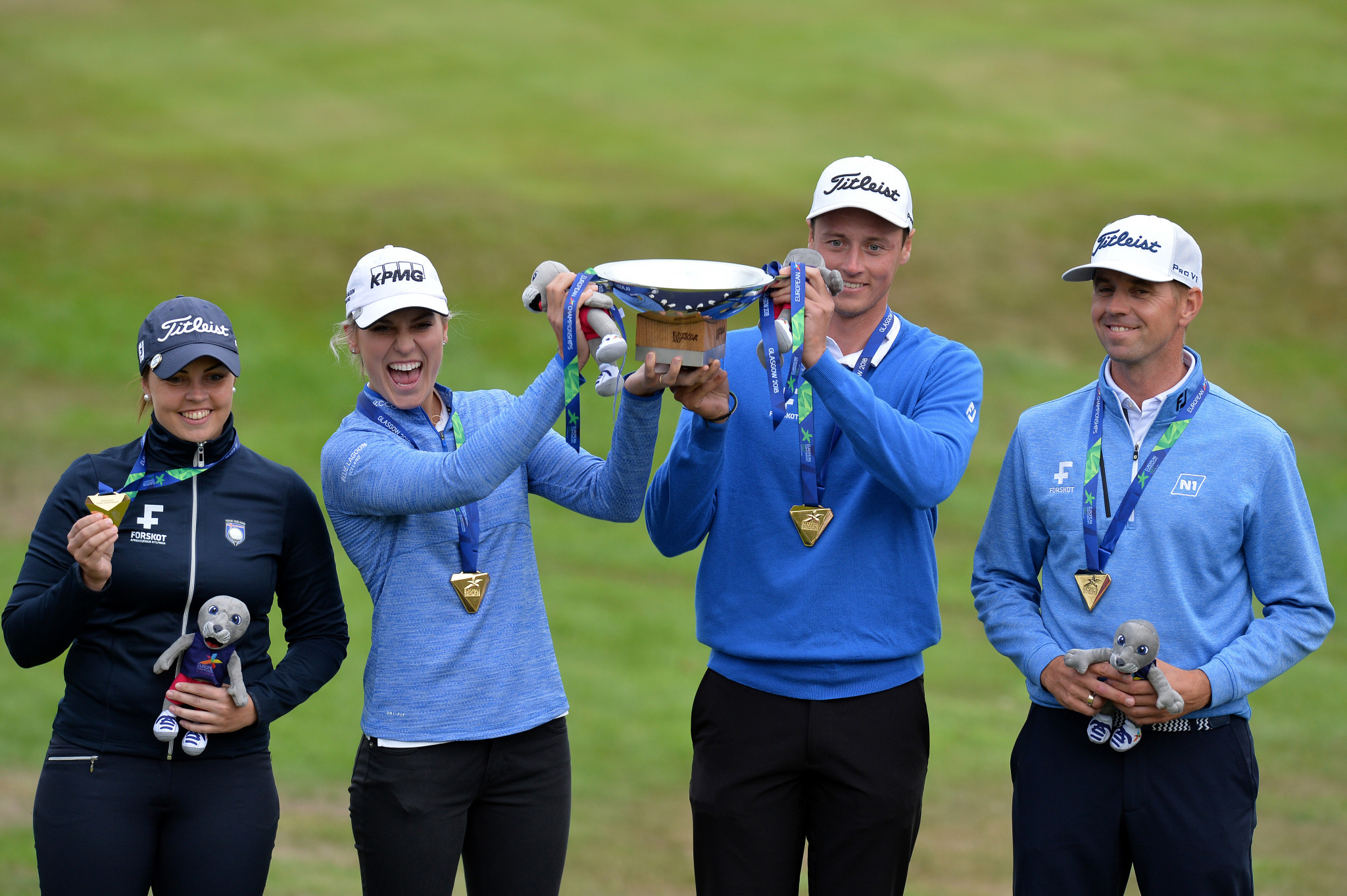 Iceland claim historic mixed team golf title on penultimate day of 2018 European Championships