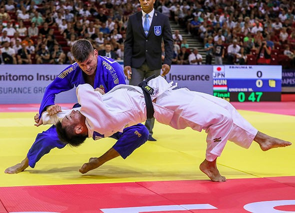 Ungvári becomes oldest winner of IJF World Tour event with Budapest Grand Prix triumph