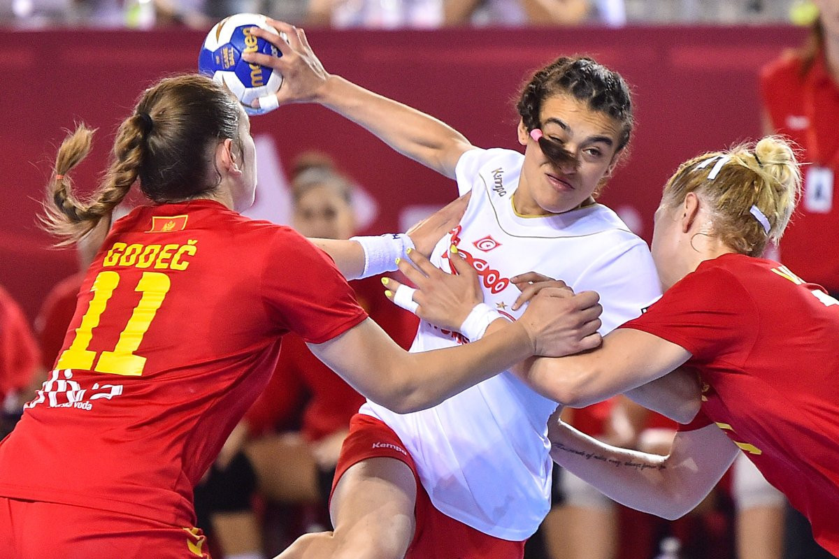 Tunisia beat Montenegro to reach Women's Youth World Handball Championship quarter-finals for first time