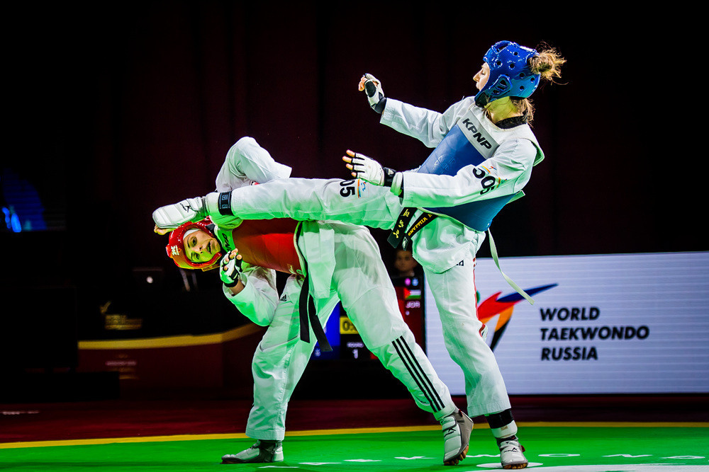 Aleksandra Kowalczuk won her second Grand Prix gold of 2018 today in the over-67kg category in Moscow ©World Taekwondo