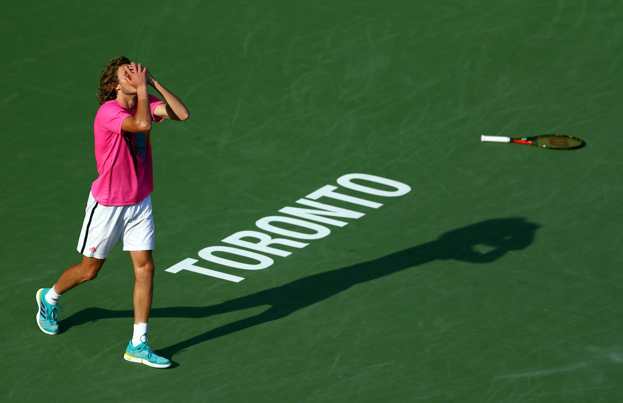 Tsitsipas continues Rogers Cup giant-killing streak to set-up Nadal final