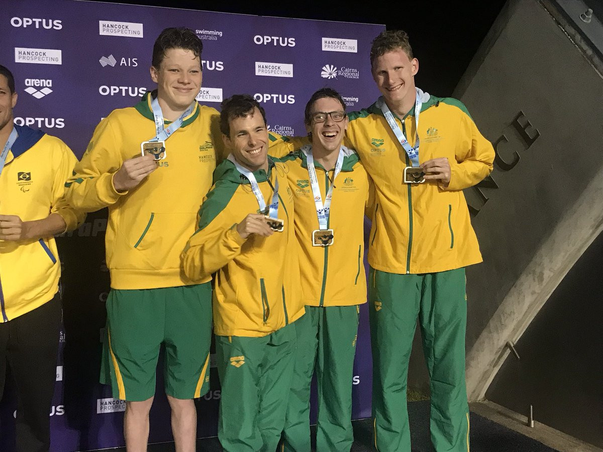 Six more golds for Australia at Pan Pacific Para Swimming Championships