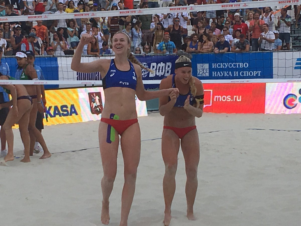 Ross and Hughes claim first FIVB World Tour title at Moscow Open