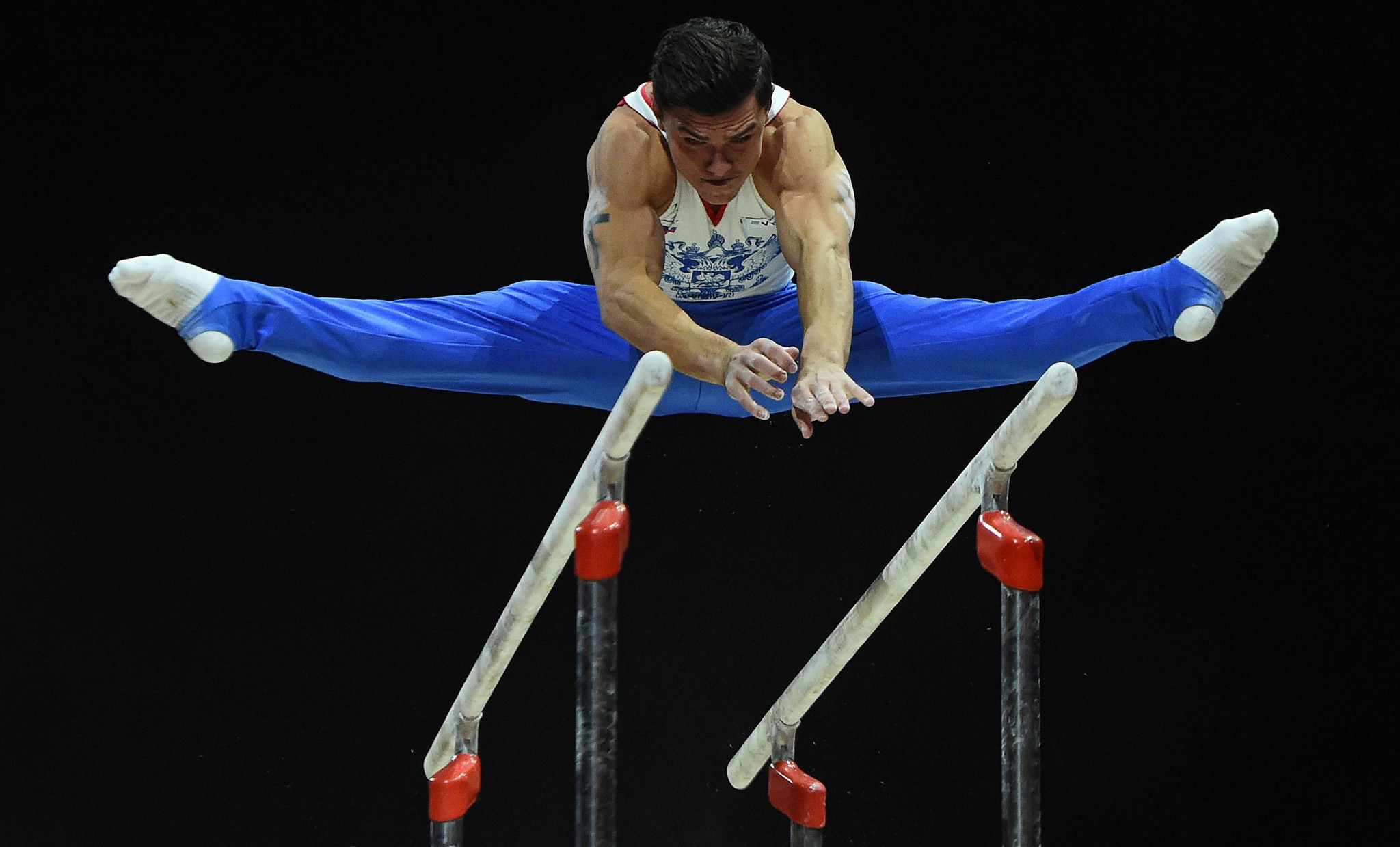 Russia's Artur Dalaloyan claimed the vault and parallel bars gold medals as men's artistic gymnastics action concluded today at the Glasgow 2018 European Championships with the apparatus finals ©Getty Images
