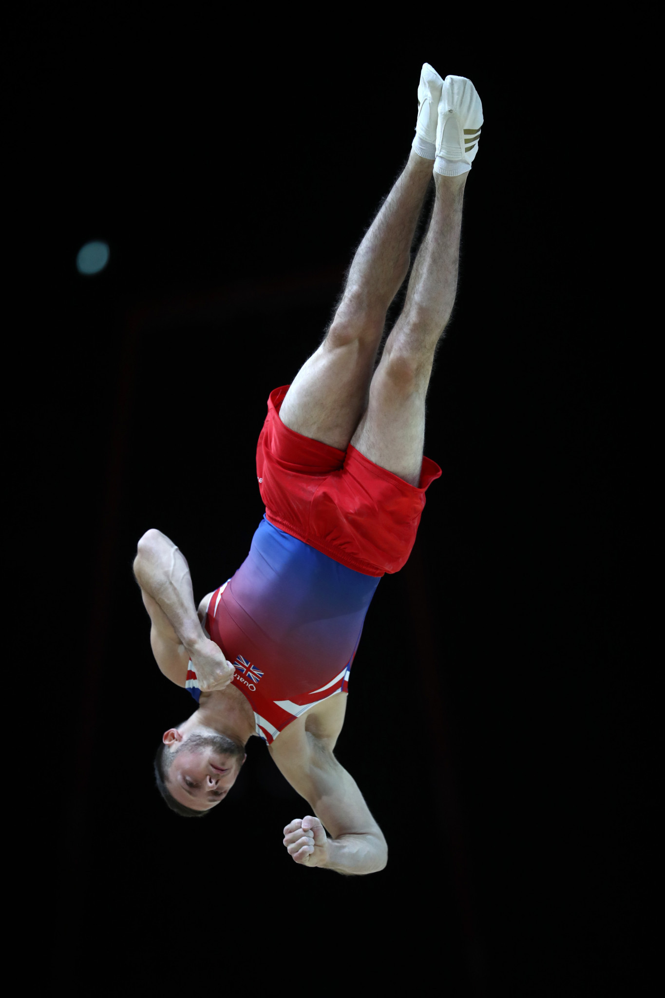 Great Britain's Dominick Cunningham delighted the home crowd with victory in the men's floor exercise ©Getty Images