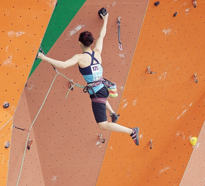 Junior speed finals were held today on the final day of competition ©IFSC
