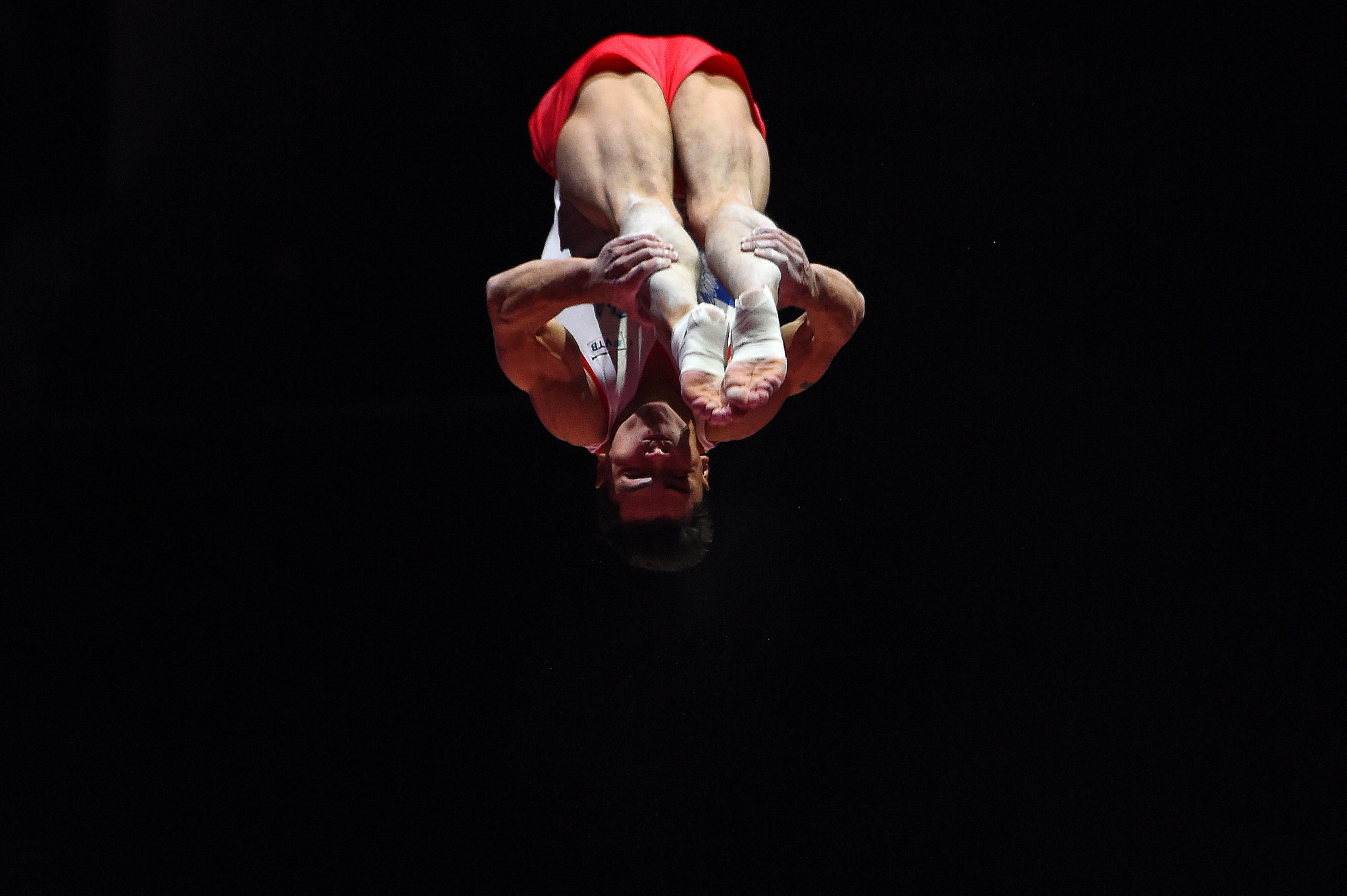 Gymnast Artur Dalaloyan was responsible for the other two, firstly winning the men's vault ©Getty Images