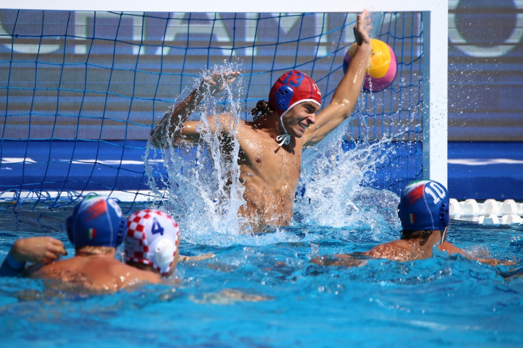 Defending champions Croatia edge Italy at Men's Youth World Water Polo Championships