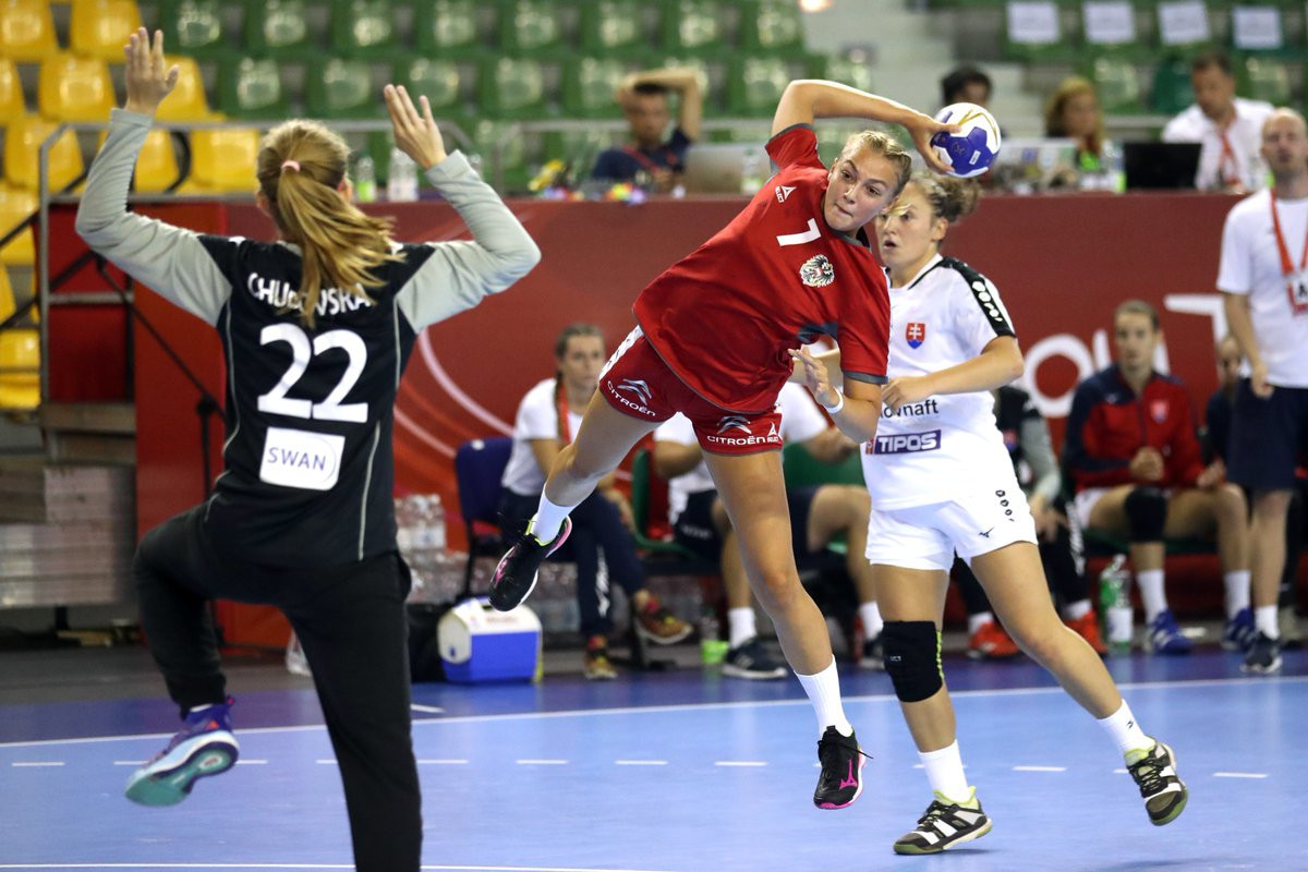 Austria secured their place in the next round of the Women's Youth World Handball Championships today by beating Slovakia ©IHF/Twitter