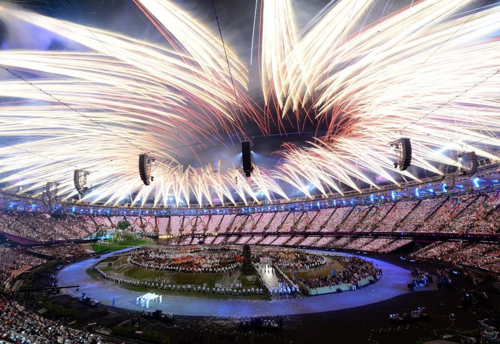 London's Opening Ceremony is expected to cost as much as 10 times what Rio's will next year ©Getty Images