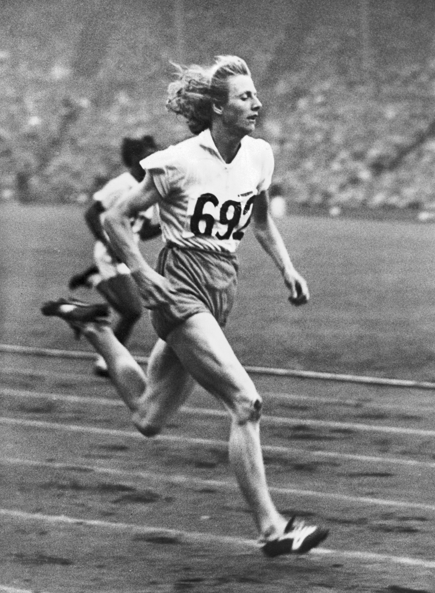 Fanny Blankers-Koen was a major star of the London 1948 Olympics ©Getty Images
