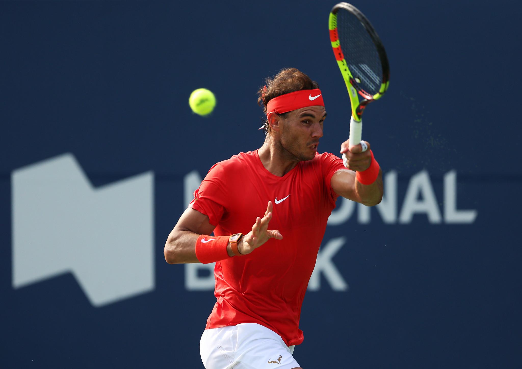 Nadal ends birthday boy Tsitsipas' winning run to claim Rogers Cup title
