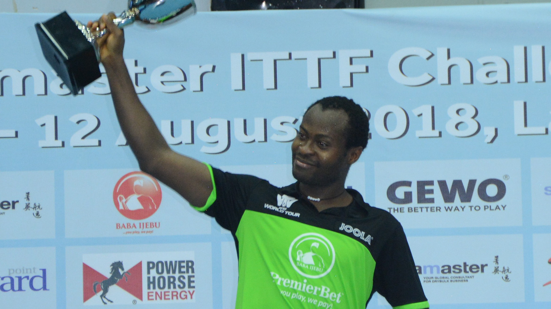 The latest tournament on the 2018 Challenge Series was won by Quadri Aruna in Lagos ©ITTF