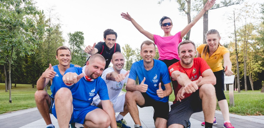 Members of the Organising Committee for the Minsk 2019 European Games have held their first training session in preparation for next month's half marathon in the Belarusian capital ©Minsk 2019
