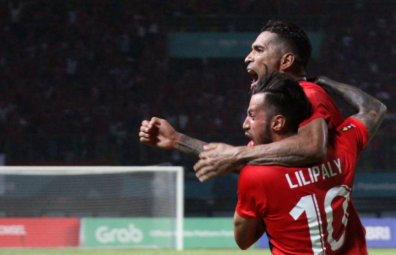 Indonesian men's football team get hosts off to perfect start at 2018 Asian Games
