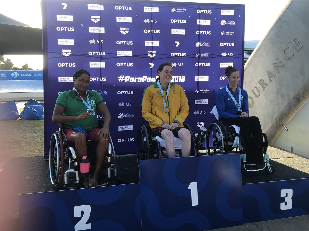 Gold rush sees hosts Australia top medal standings at Pan Pacific Para Swimming Championships