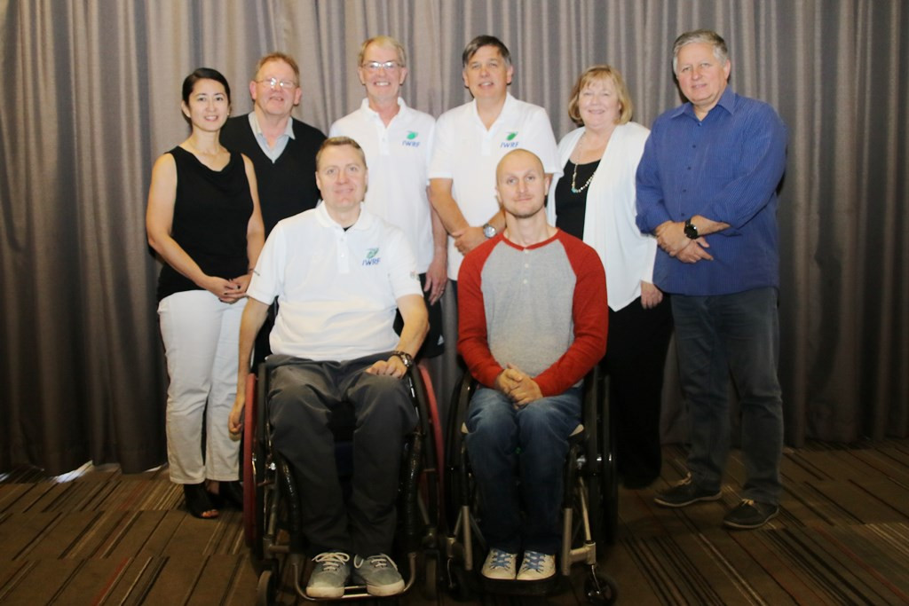 Allcroft elected as President of International Wheelchair Rugby Federation