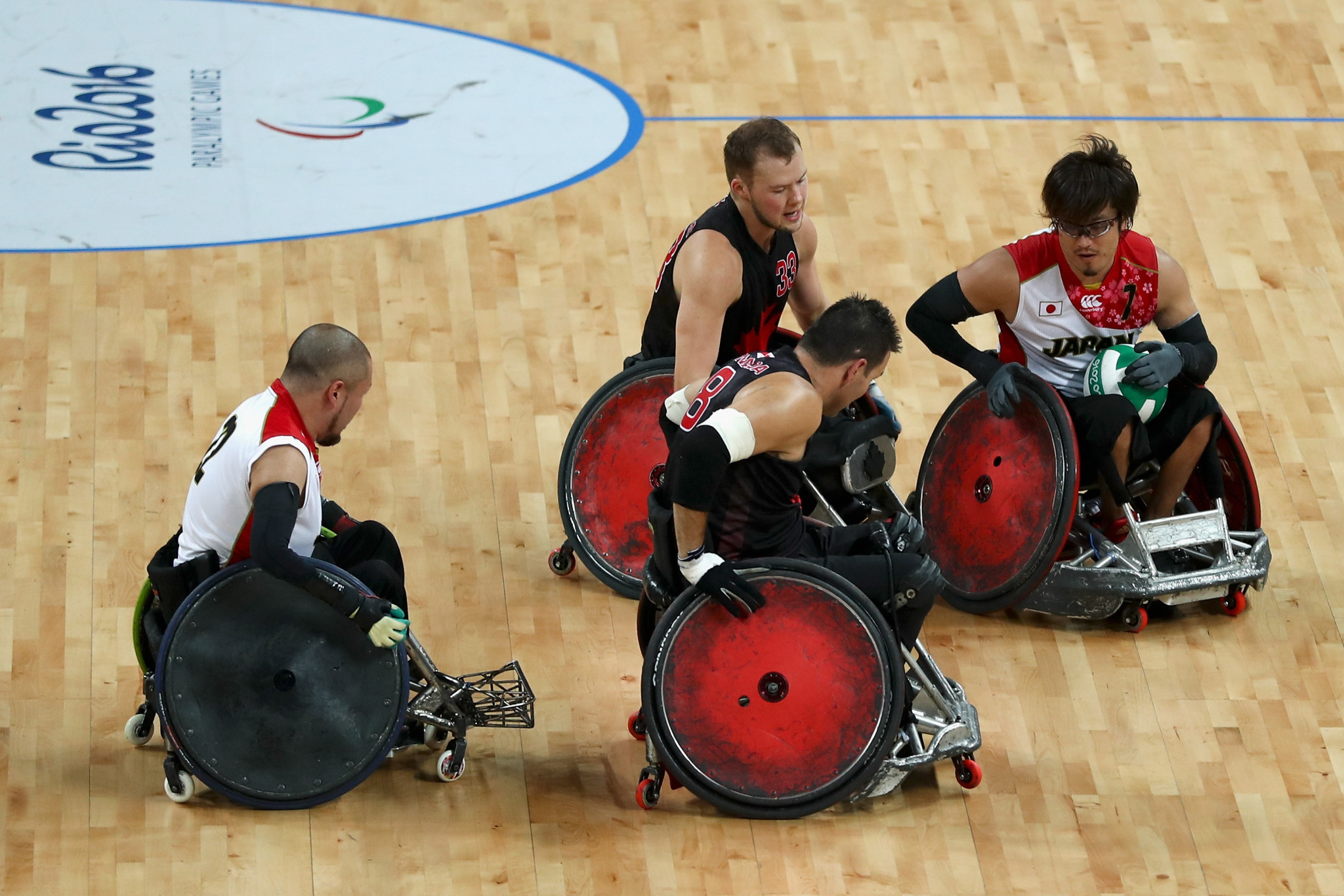 Wheelchair rugby will now look forward to the Tokyo 2020 Paralympic Games  ©Getty Images