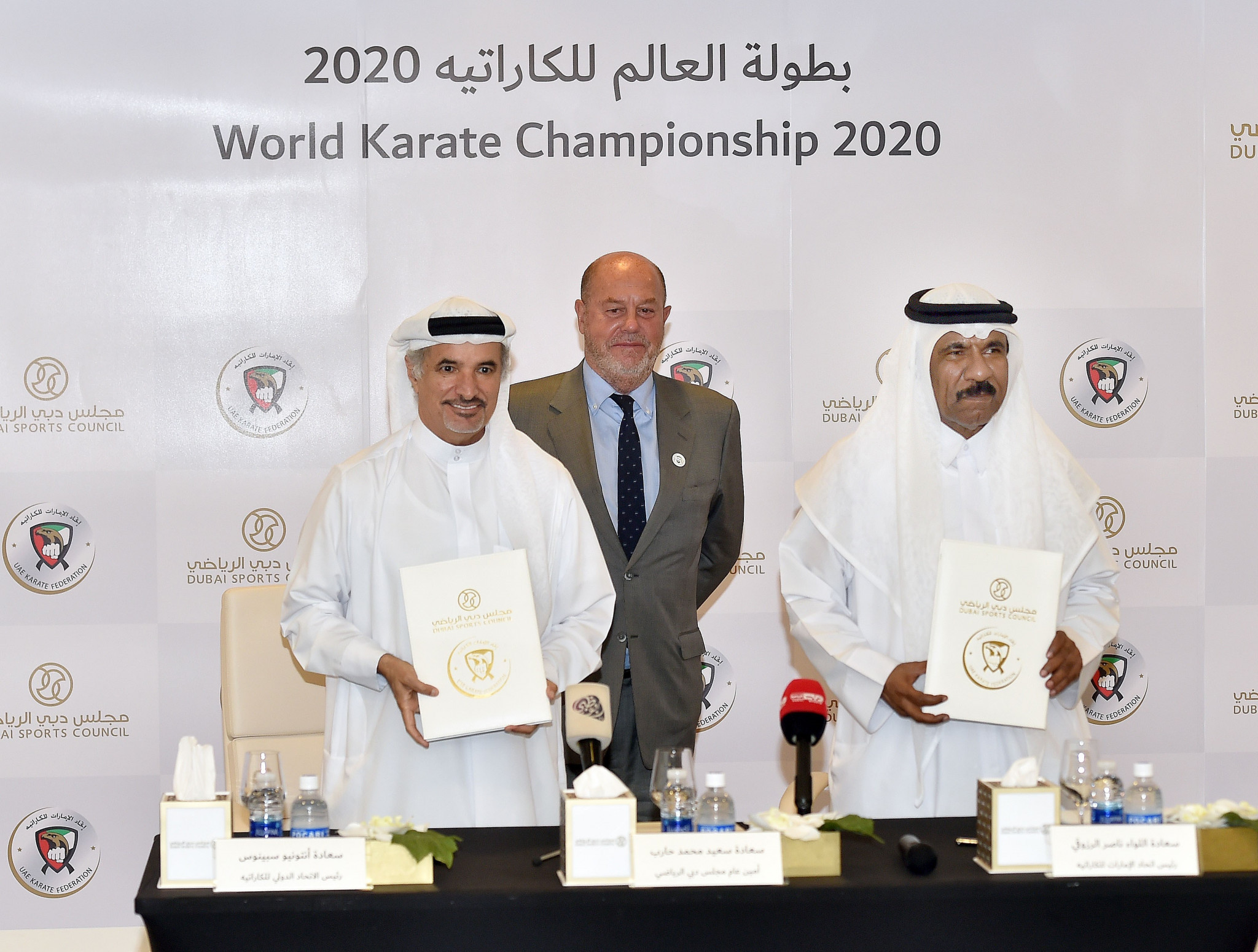 Espinós admits Dubai World Championships will be key to karate's Olympic hopes post-Tokyo 2020