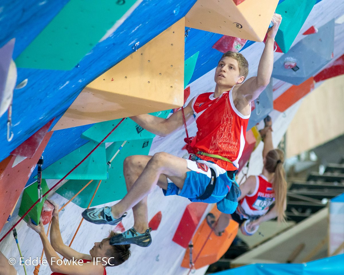 Qualification took place today in the lead events, at the IFSC Youth World Championships in Moscow ©IFSC