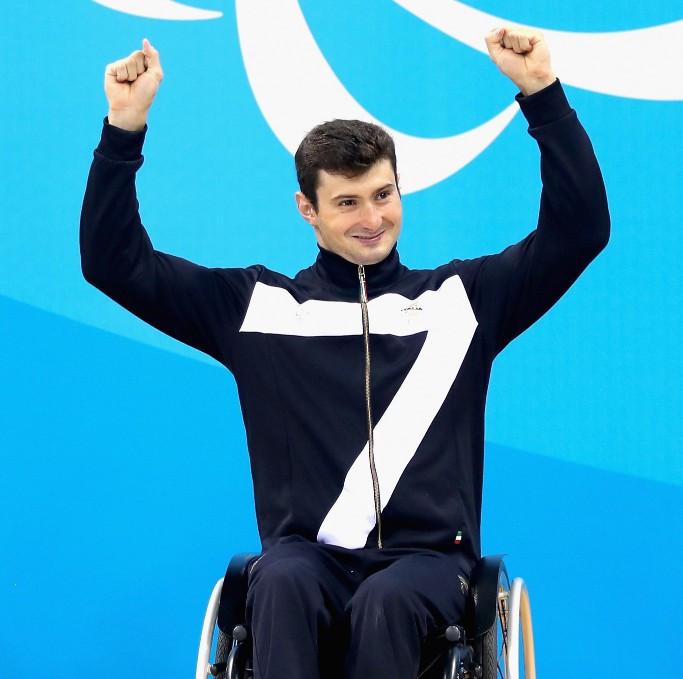 Francesco Bocciardo, pictured at Rio 2016, broke a world record today ©Getty Images