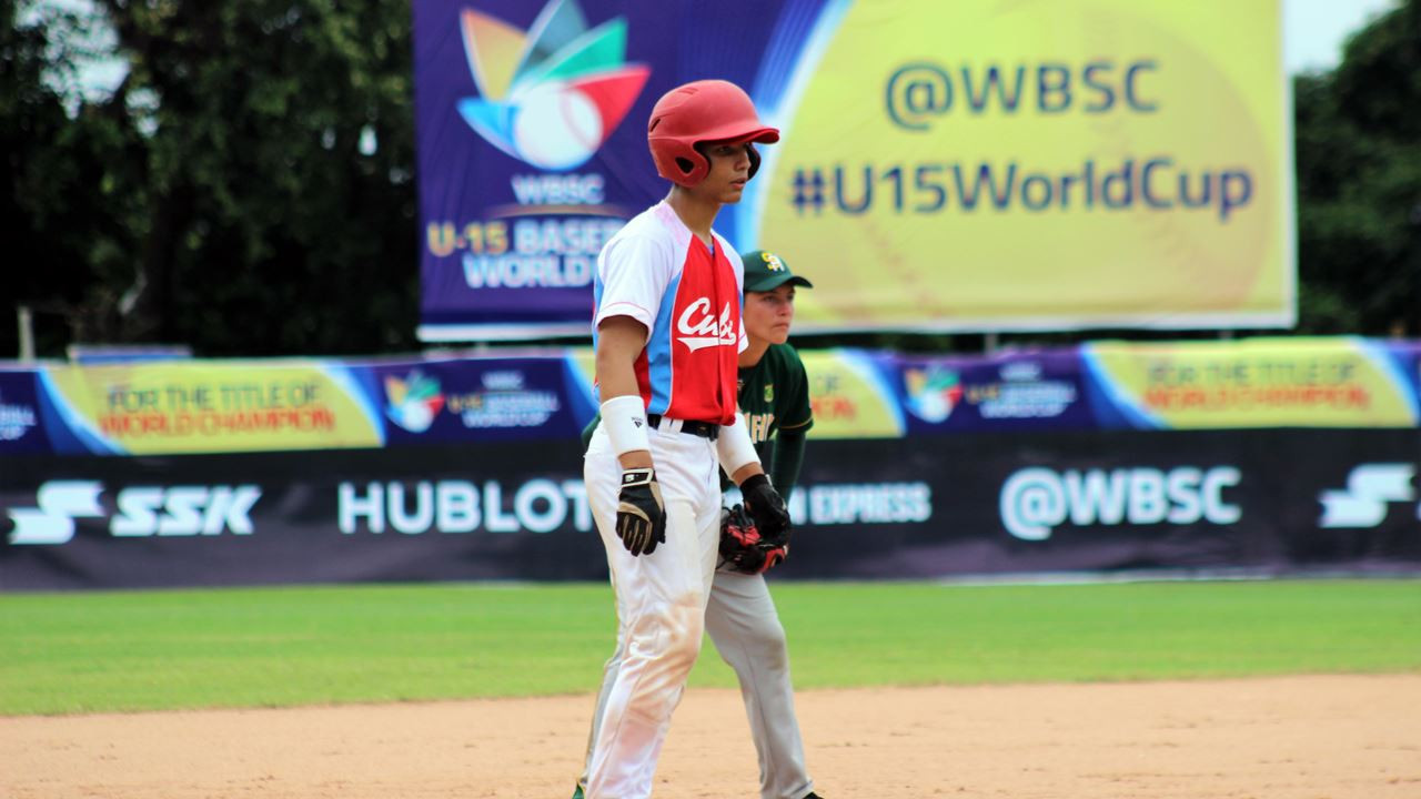 Cuba and Japan reach super round at WBSC Under-15 World Cup