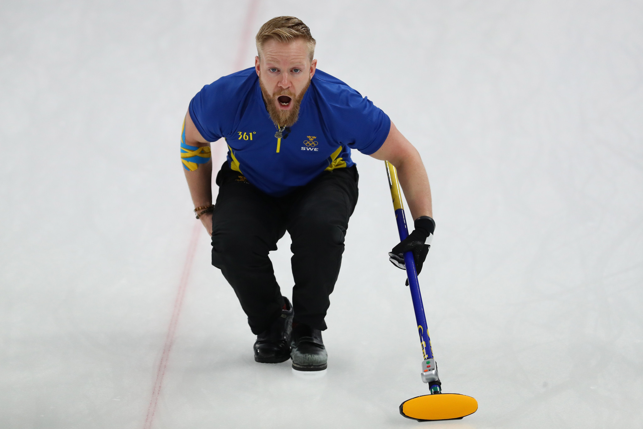 Niklas Edin's Swedish rink are the defending men's European champions ©Getty Images