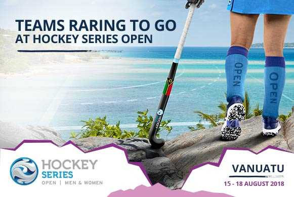 The fifth Hockey Series event of the season will get underway in Vanuatu tomorrow ©FIH