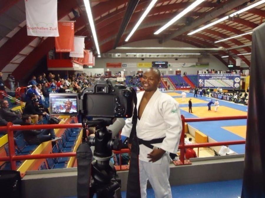 Mozambique Judo Federation general secretary Nilton Mojuvo was among the judokas competing