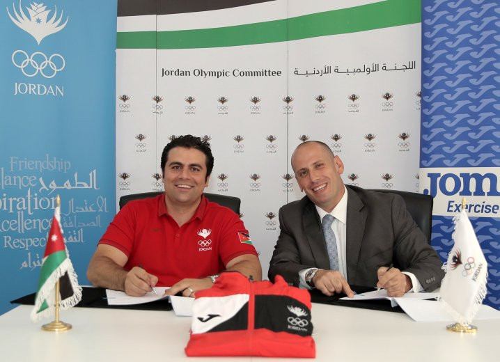 The Jordan Olympic Committee has signed a kit deal with Joma ©JOC
