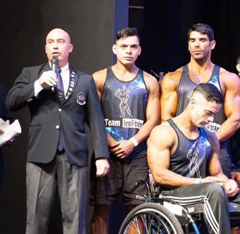 Top bodybuilders from across Paraguay participated ©Getty Images