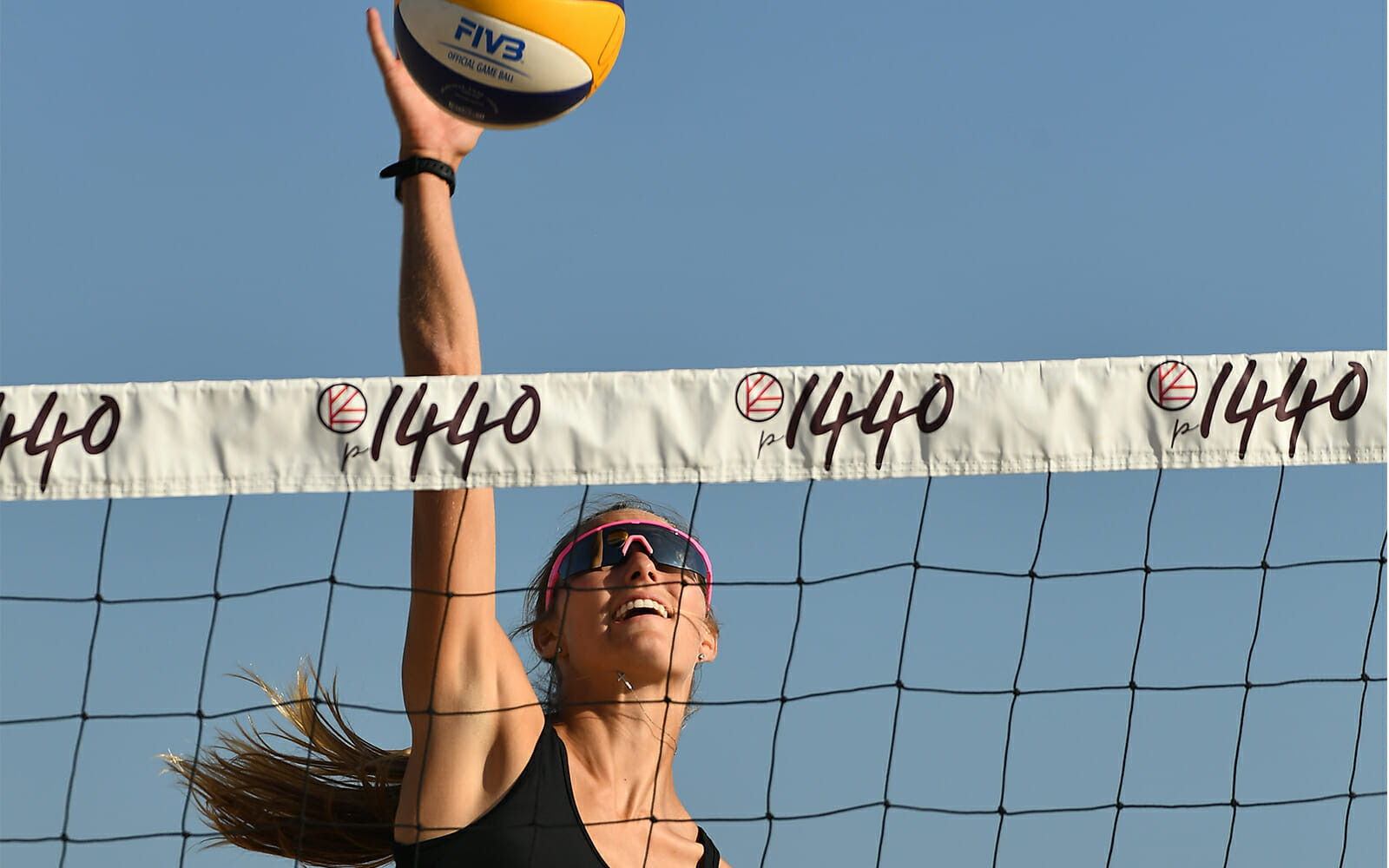 The p1440 event series will sponsor the FIVB Las Vegas Open ©IFBB