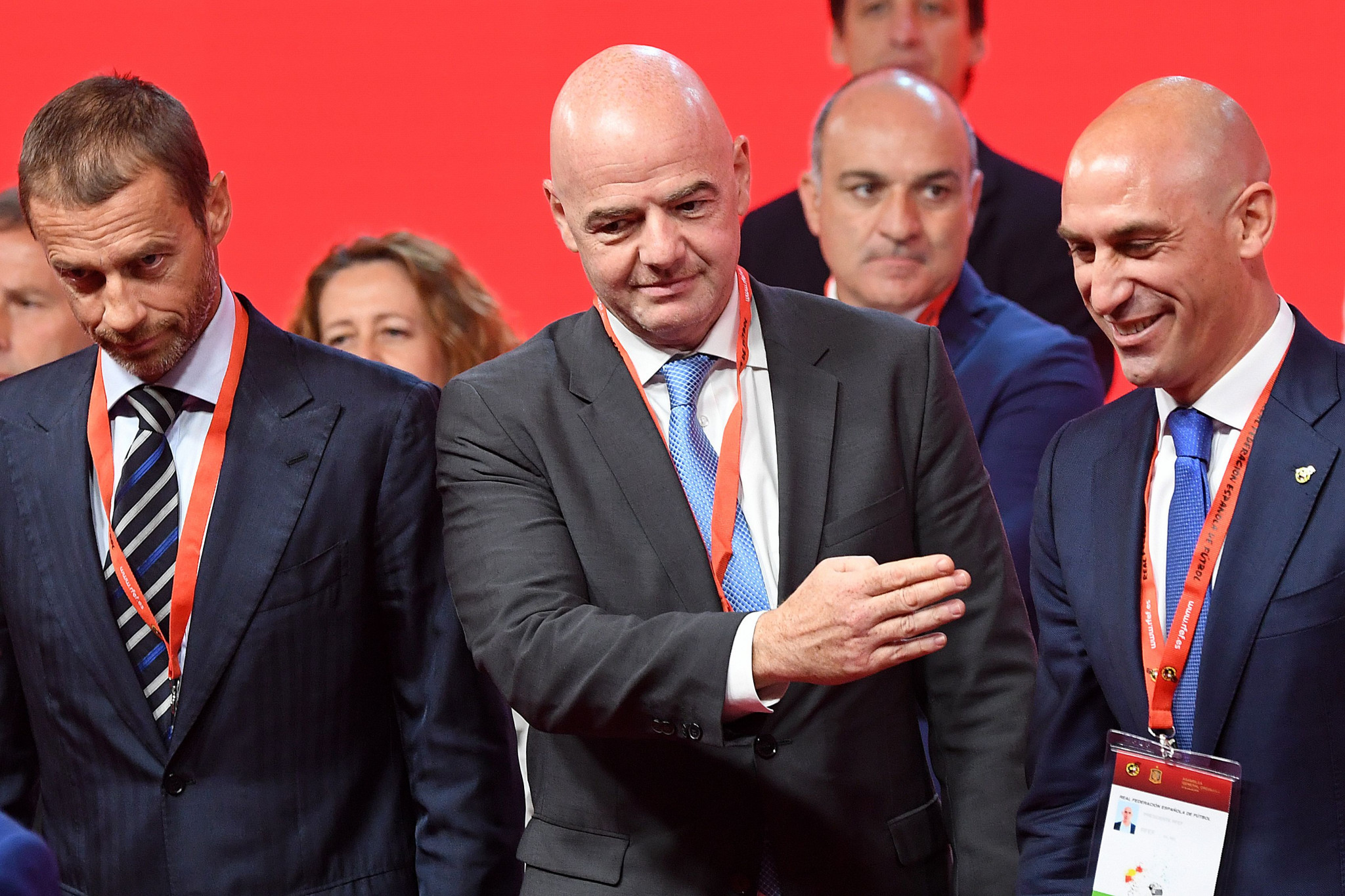 FIFA President Gianni Infantino has continually talked up how the organisation has changed since the corruption scandal ©Getty Images