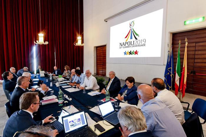 The site for the Athletes' Villages has been the main concern for Naples 2019 ©FISU
