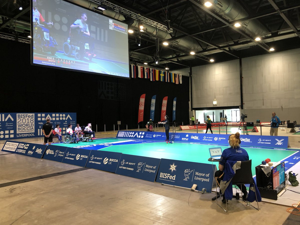 Smith survives scare to reach semi-finals at Boccia World Championships