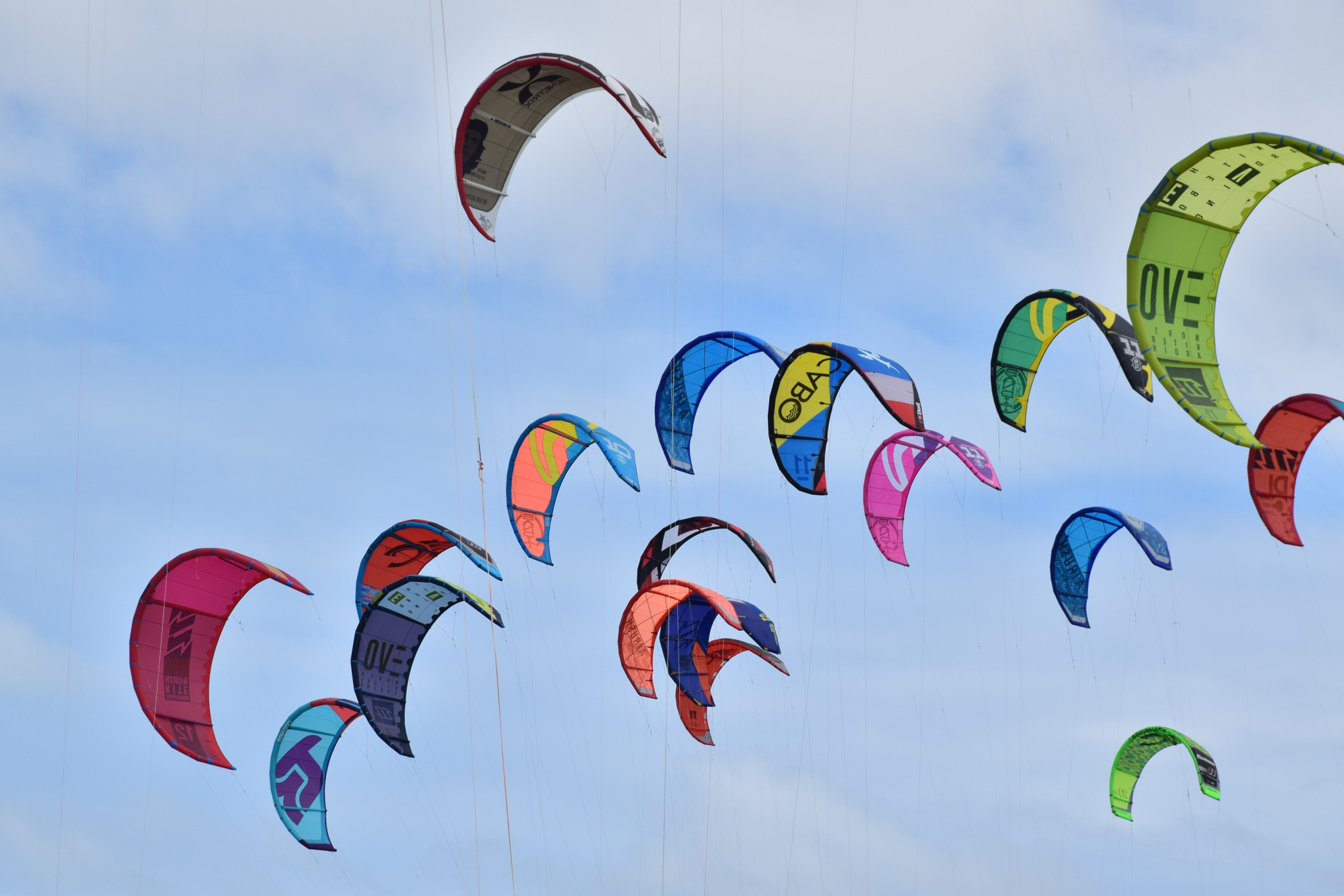 Kitesports are expected to feature at the Paris 2024 Olympic Games ©IKFO