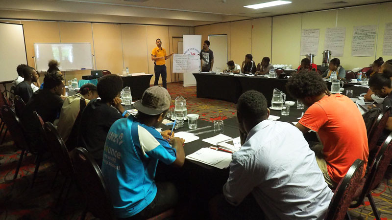 The Papua New Guinea Olympic Committee's H.E.R.O programme has continued its work ©PNGOC