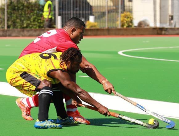 Action is underway in Vanuatu ©Vanuatu Hockey Federation