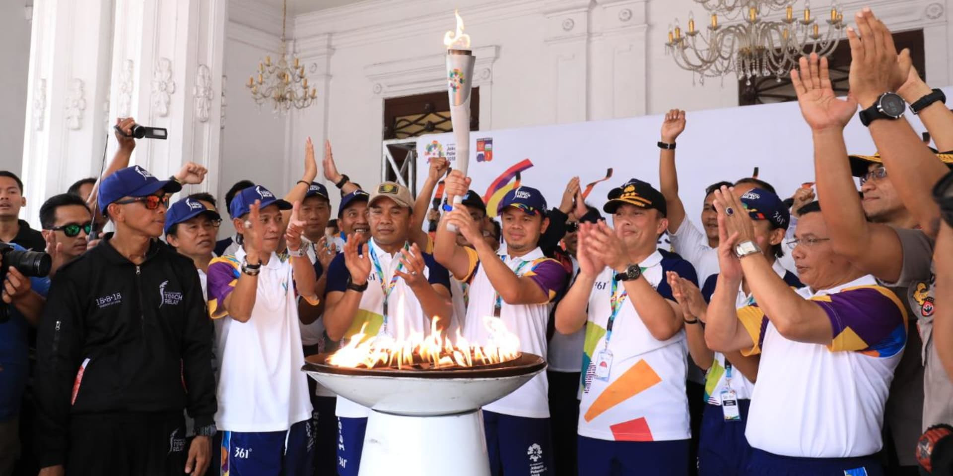 The 2018 Asian Games Torch will complete its Relay when it arrives in Jakarta today ©Asian Games 2018