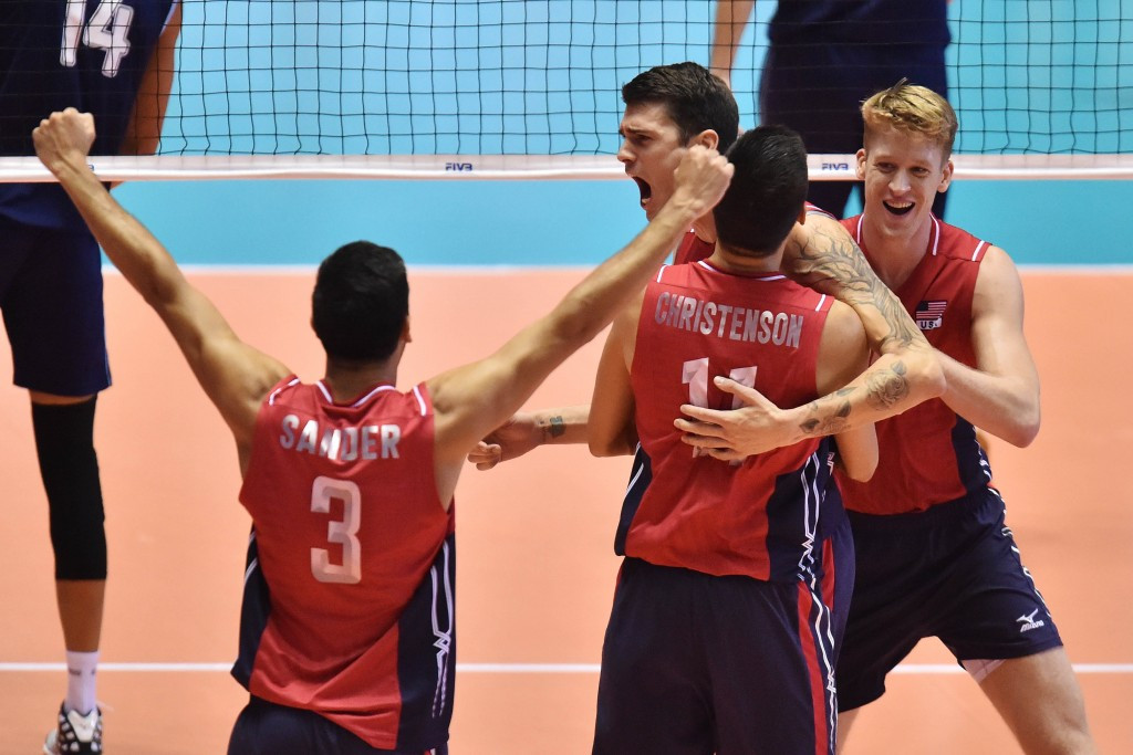 United States win FIVB Men's World Cup and book Rio 2016 spot while Italy deny Poland second Olympic berth