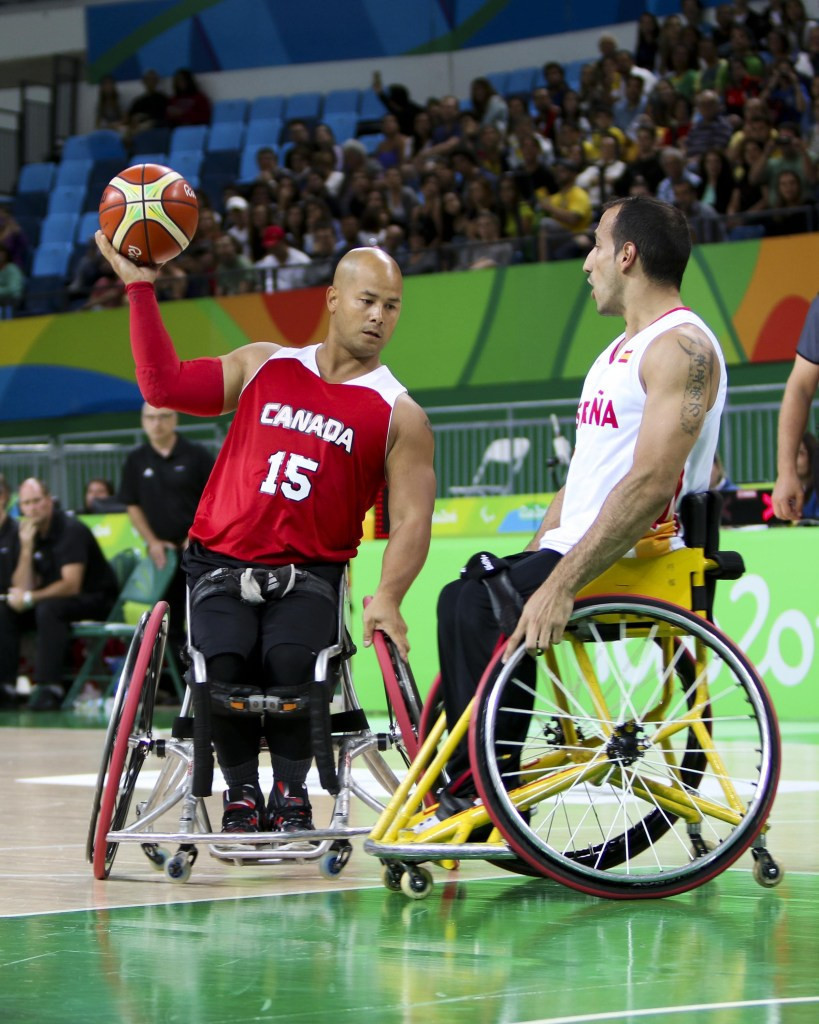 David Eng, left, will co-captain Canada's London  2012 champions as they contest the men's world title in Hamburg ©Getty Images