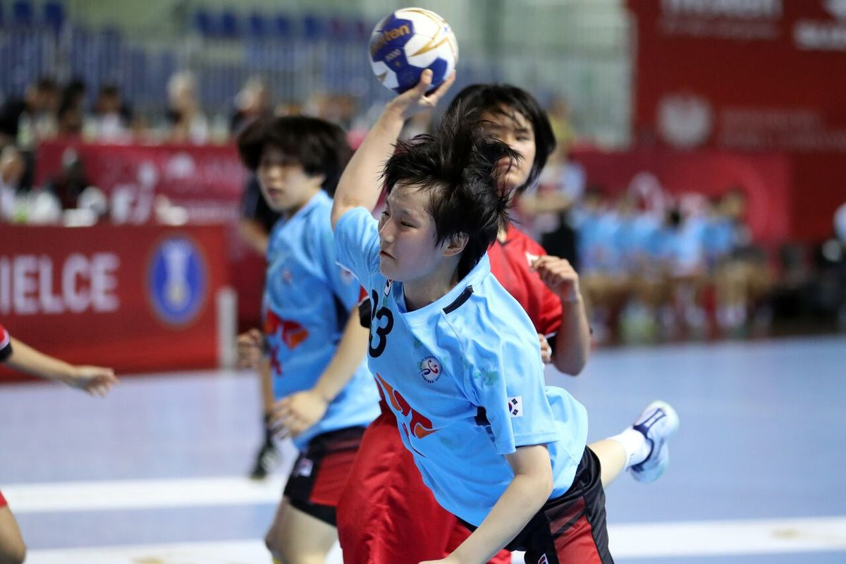 Asian champions South Korea were among other winners today ©IHF