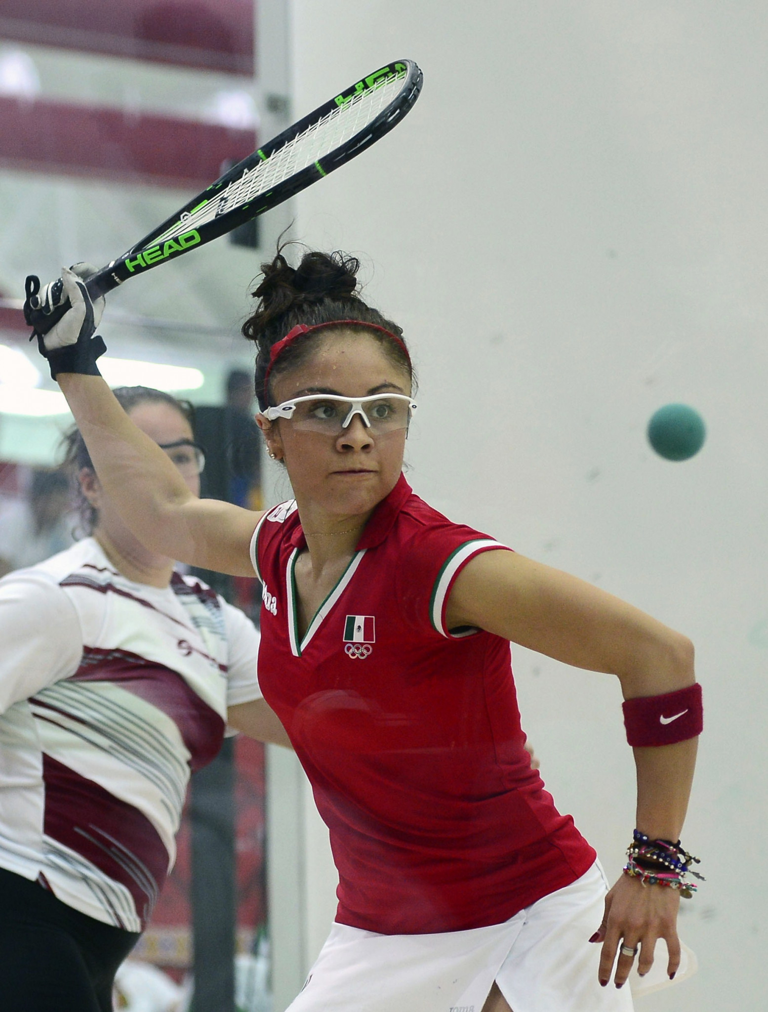 Top seeds Horn and Longoria into Racquetball World Championships quarter-finals in San José