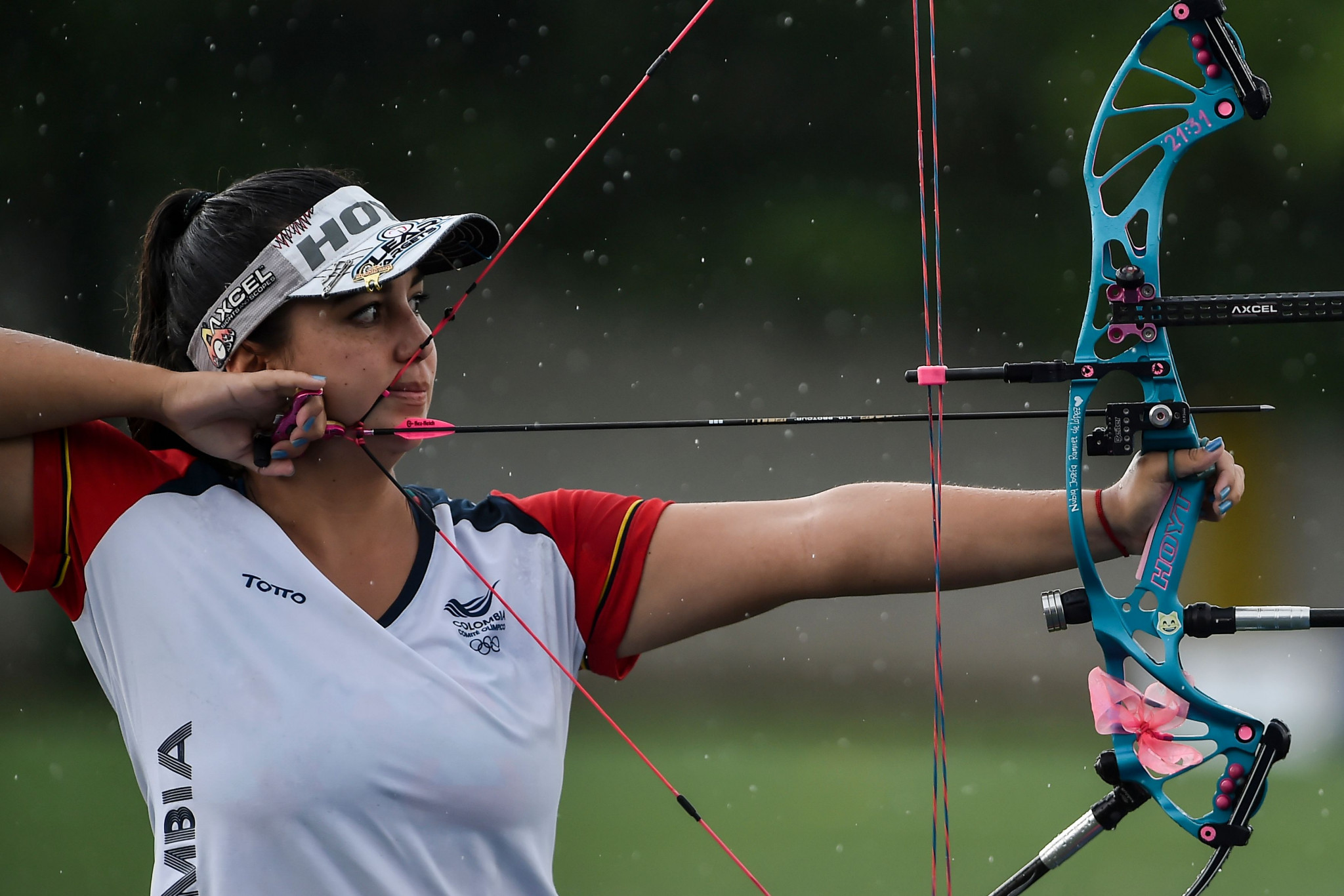 Lopez leads compound qualification on home soil at Pan American Archery Championships