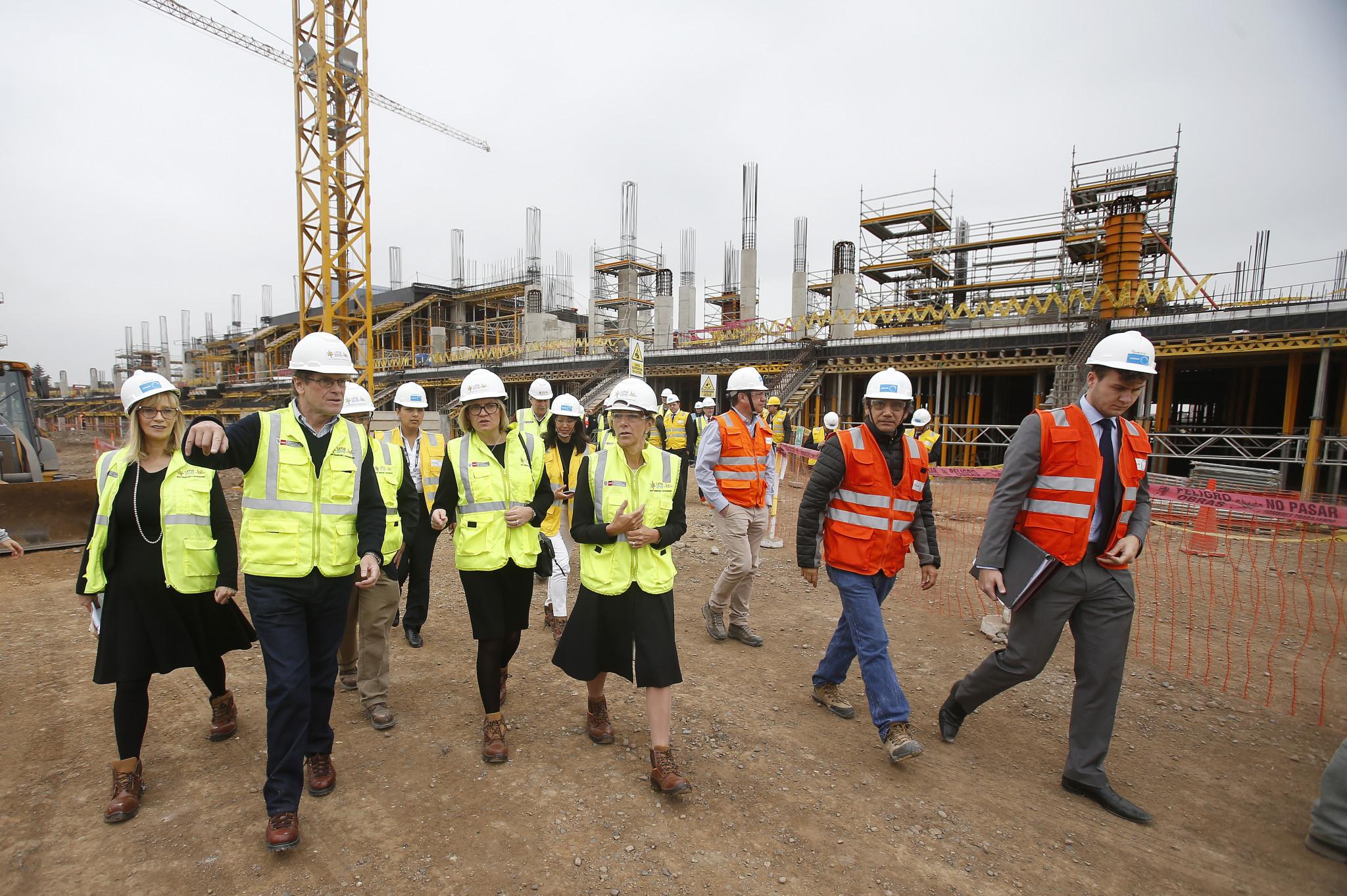 British Minister visits Lima 2019 venue cluster