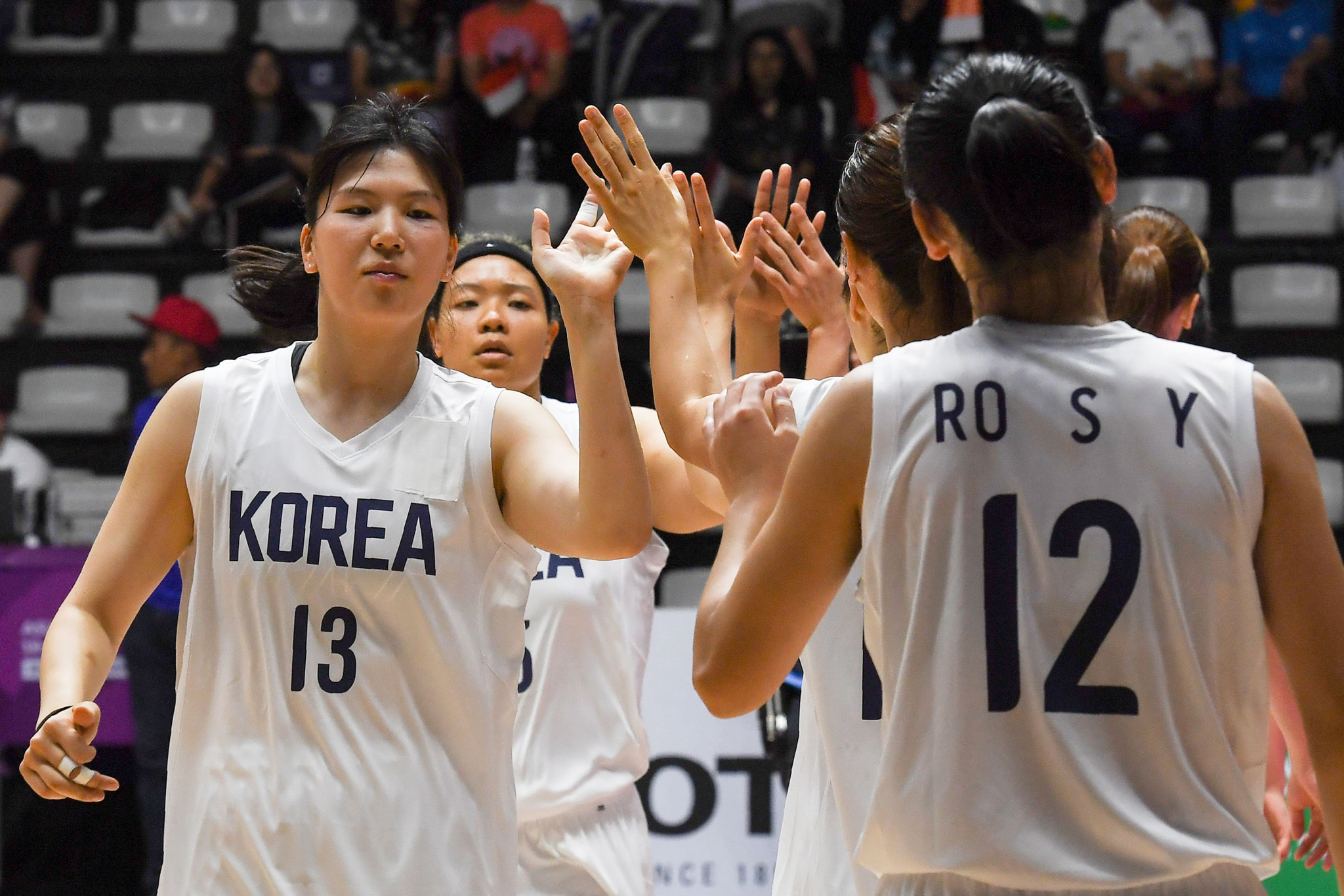 Korea's joint team defeated Indonesia ©Getty Images
